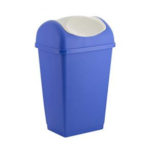 Schwingdeckeleimer Küche, Küchen Abfalleimer mit Schwingdeckel, Mülleimer Küche, Mülleimer Küche mit Schwigndeckel