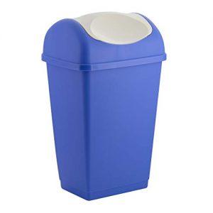 Mülleimer von axentia, Axentia Abfallbehälter mit Schwingdeckel, Schwingdeckeleimer von Axentia