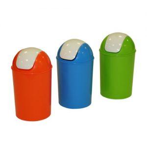 Kunststoff Schwingdeckeleimer, Plastik Abfalleimer mit Schwingdeckel, Plastik Schwingedeckeleimer, Kunststoff Abfalleimer mit Schwingdeckel, Plastik Mülleimer mit Schwingdeckel