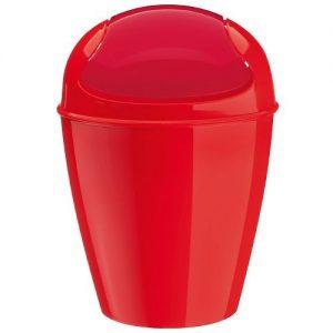 Rote Abfalleimer, Abfalleimer rot, Rote Abfalleimer mit Schwingdeckel,  Abfalleimer mit Schwingdeckel in rot, roter Schwingdeckeleimer,  Schwingdeckeleimer in rot, Rote Mülleimer mit Schwingdeckel, roter Mülleimer mit Schwingdeckel